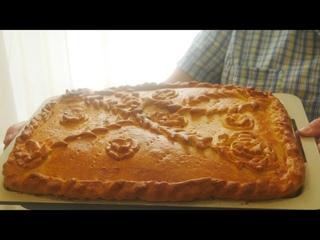 Рыбный пирог с картошкой ( сочный,пикантный, неповторимый вкус)