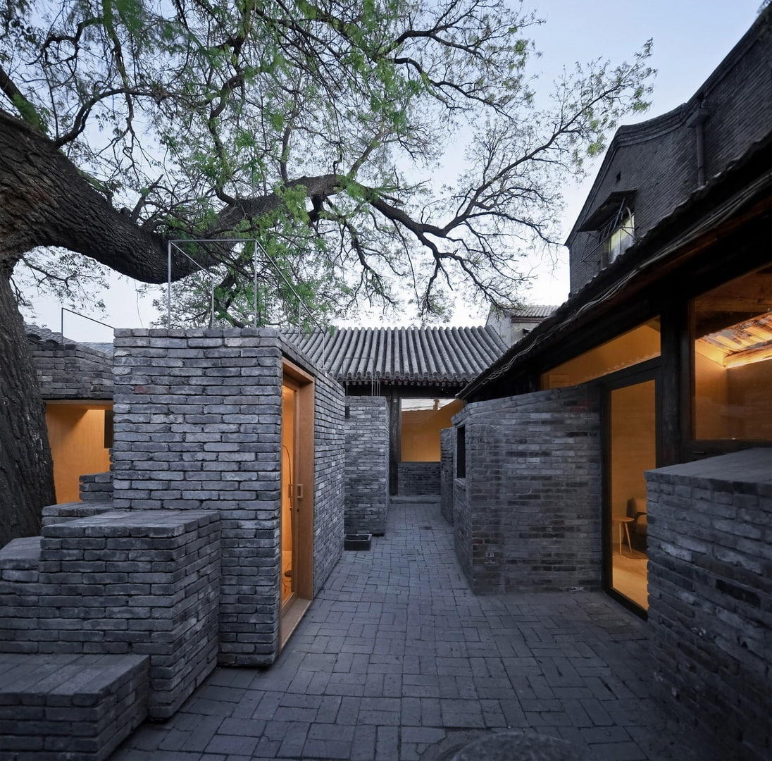 Zhang Ke slots work and play spaces into Beijing's ancient hutong courtyards