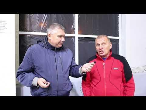 Юрий Моров, руководитель Красной Этны Сегодня залетело практически всё!