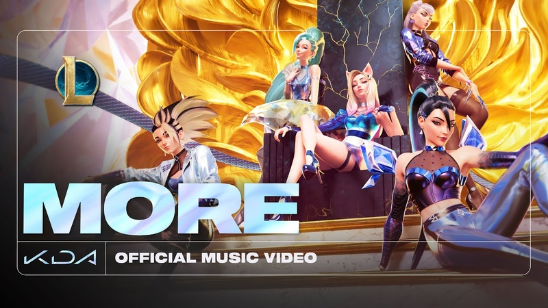 K DA MORE ft Madison Beer G I DLE Lexie Liu Jaira Burns Seraphine Official Music Video