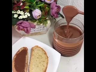 Домашняя шоколадная паста 🍫 (https://vk.com/public186004641)
