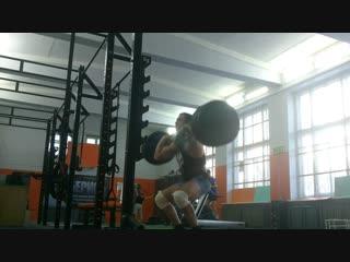 Только:здоровый сон, сбалансированное питание, хорошая разминка залог продуктивной тренировки!