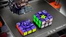 Сделал КУБИК РУБИКА НА 3D ПРИНТЕРЕ | полностью функционирующий скоростной 3х3 | 3Д печать