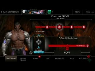 ОБНОВЛЕНИЕ  в Mortal Kombat X Mobile