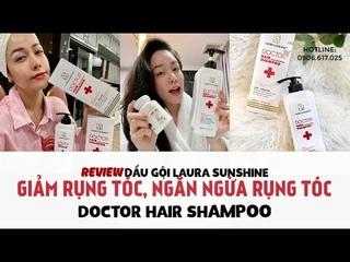 DẦU GỘI LAURA SUNSHINE   LAURA SUNSHINE DOCTOR HAIR SHAMPOO   NHẬT KIM ANH REVIEW