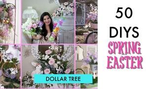 🍃 50 DIY DOLLAR TREE DECOR CRAFTS 🍃 SPRING/ EASTER / BRIDAL / Olivia's Romantic Home DIY 2019