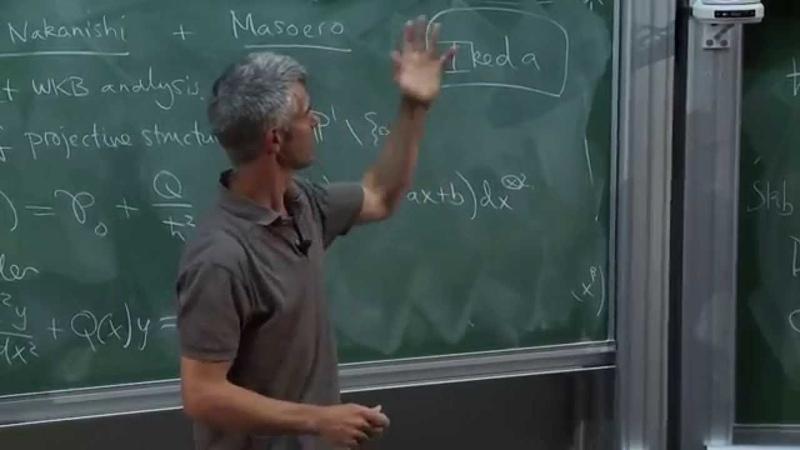 Tom Bridgeland - Stability structures on Calabi-Yau algebras