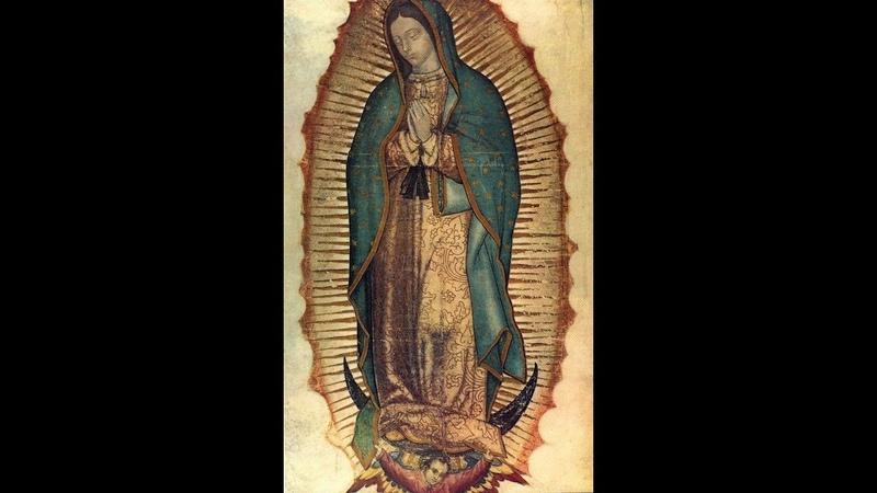 Нерукотворная икона Божьей Матери из Гваделупы