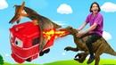 Крутые игрушки для мальчиков - COLLECTA набор мини динозавров! Новые фигурки животных детям.