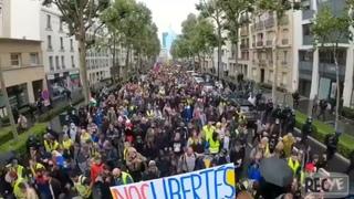 7 Août Paris : les images que tu ne verras jamais sur la télévision (vue en Hauteur)