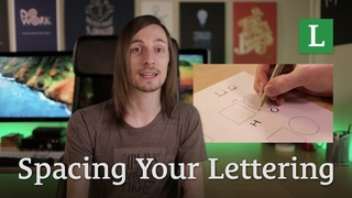 Free Learn Lettering Video: Spacing Your Lettering