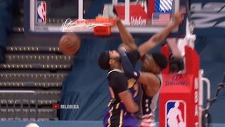 Rui Hachimura murders Anthony Davis with monster dunk💀 Lakers vs Wizards