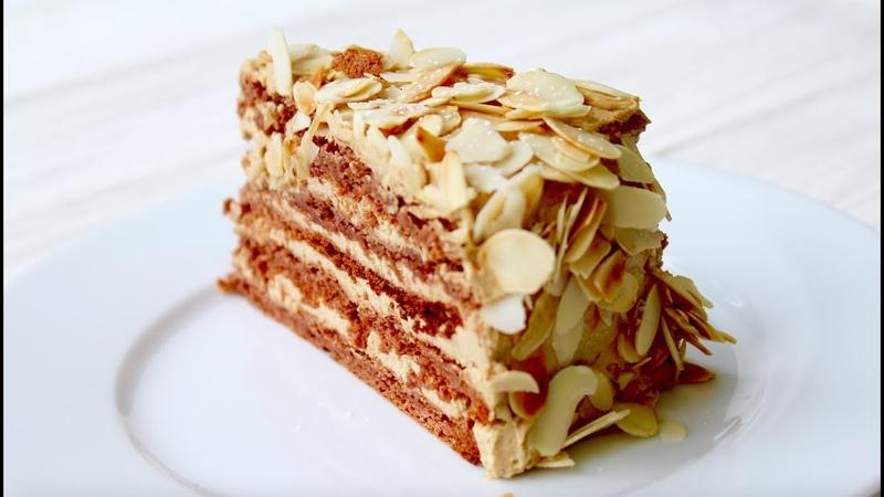 МИНДАЛЬНЫЙ ТОРТ Агнес Бернауэр ООЧЕНЬ ВКУСНЫЙ gluten free