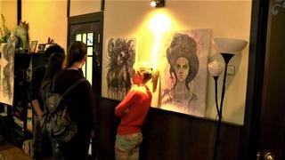 Персональная выставка художника Адиля Аубекерова