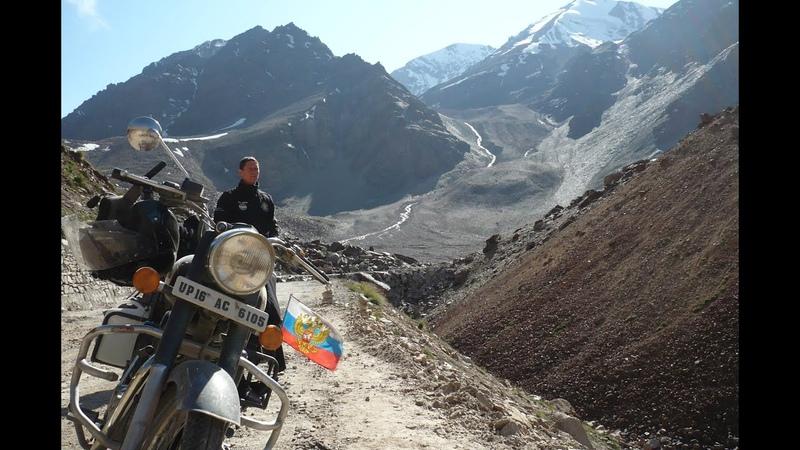 На байках через Гималаи Mit Motorrad über Himalaya