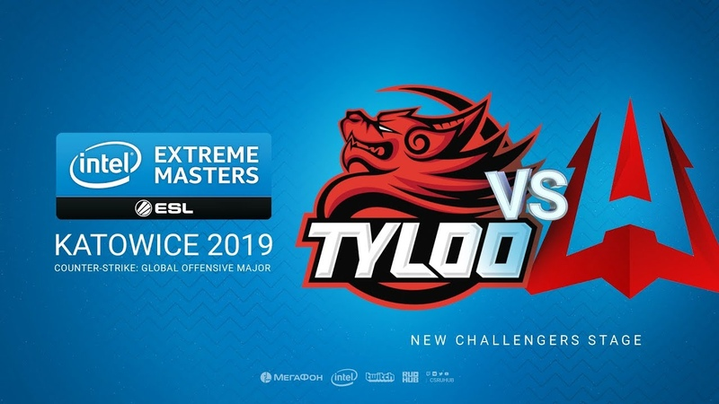 TyLoo vs AVANGAR - IEM Season XIII - Katowice Major 2019 - map1 - de_cache [MintGod SSW]