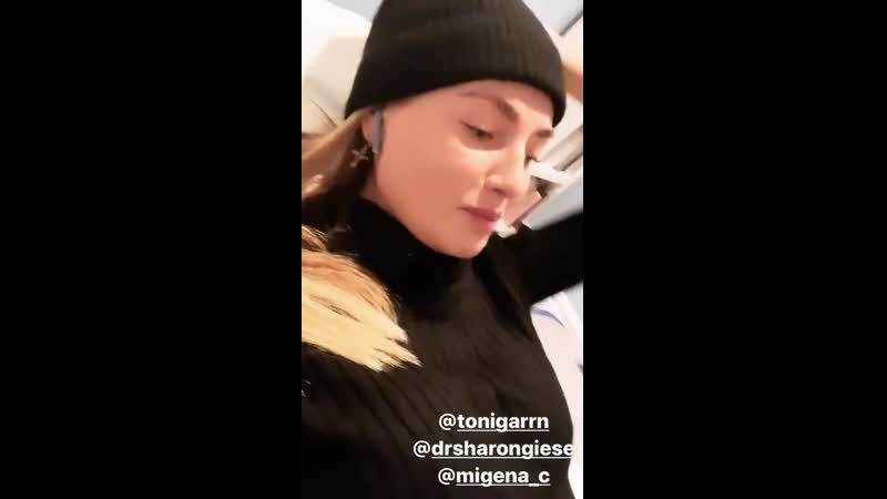 Instagram stories Alina Baikova