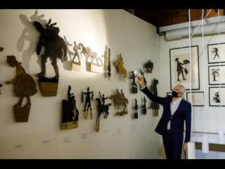 Онлайн-экскурсия по выставке «Театр движущейся скульптуры. Иван Ефимов, Нина Симонович-Ефимова. Сто лет со дня основания»