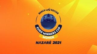 WFC ZVEZDA (RUS) vs MADRID CFF (ESP) - Women Euro Winners Cup Nazaré 2021 FINAL