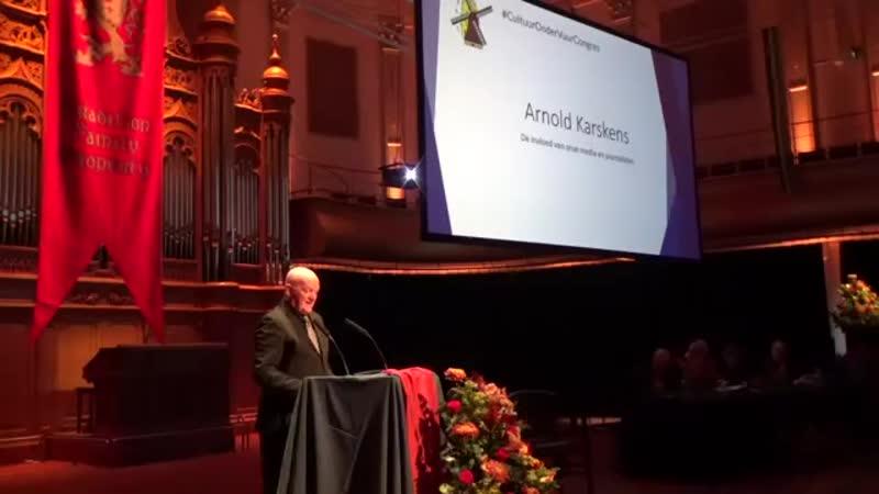Arnold Karskens tegen de NOS