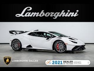2021 Lamborghini Huracan STO Bianco Asopo
