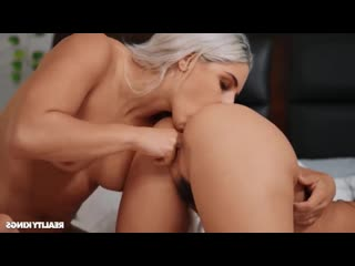 Pornomix / Abella Danger, Karlee Grey -  squirt  Fingering Pussy Licking Athletic milf strapon lesbians xxx лесбиянки страпон