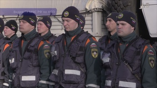 Группировка спасателей МЧС НСО едет в Алтайский край на борьбу с паводком