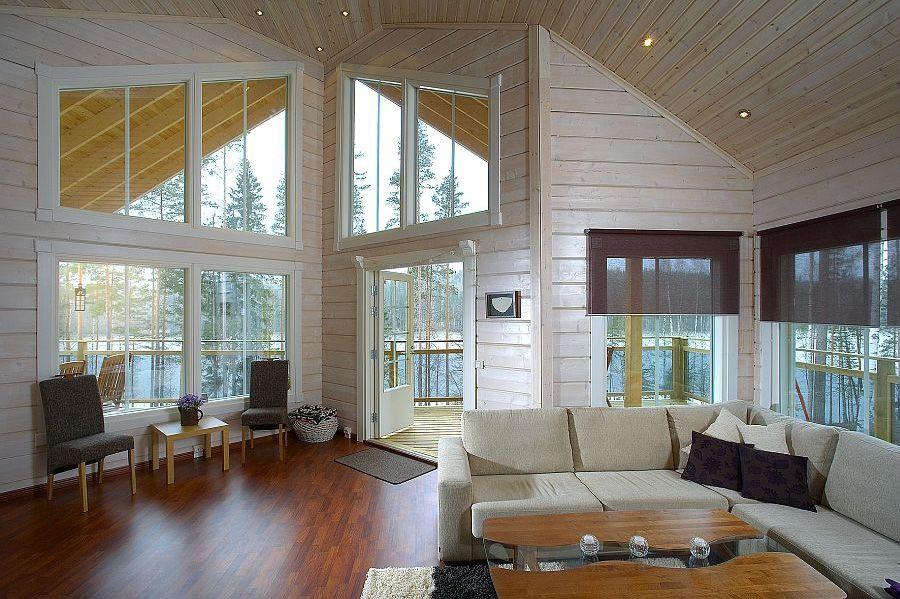 дизайн внутри каркасного дома фото способів поліпшити планування