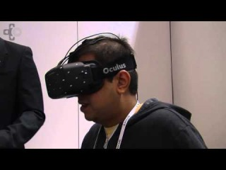 Oculus Rift Game Demo At CES 2014