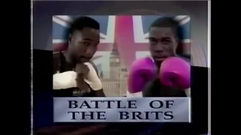 Lennox Lewis vs Frank Bruno HBO World Championship Boxing October 1st 1993