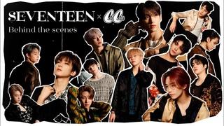 【SEVENTEEN】セブチの撮影裏に密着♡メンバーの仲良しな姿も大公開!/ 2021 Behind the scenes  CanCam Photoshoot