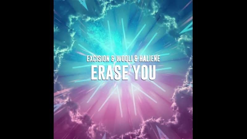 Excision Wooli Erase You feat HALIENE Teaser