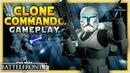 CLONE COMMANDO GAMEPLAY Instant Action Coop - Star Wars Battlefront 2