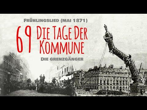 Die Grenzgänger Frühlingslied Mai 1871