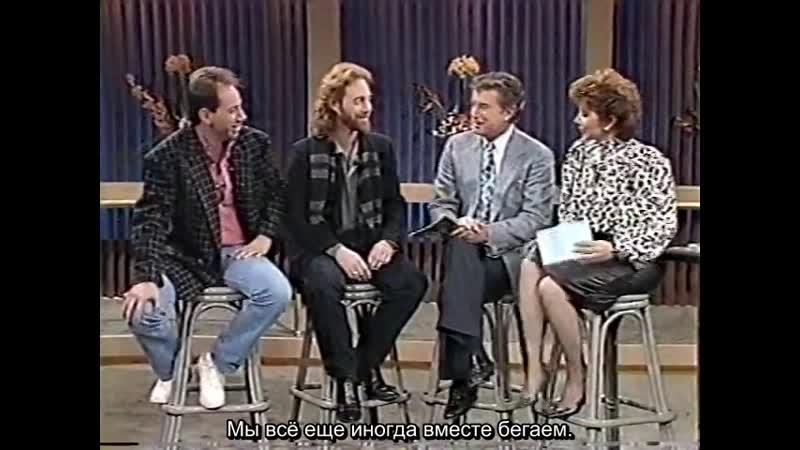 Bill Mumy Miguel Ferrer July 1987 RUS SUB