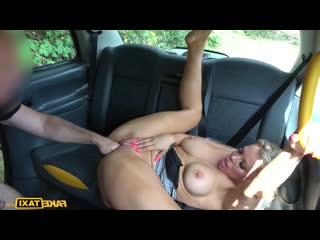Faketaxi bianca finnish blonde milf back for one more fuck fake taxi busty babe natural big boobs
