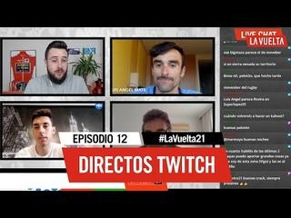 👾 Directos Twitch   1x12   Con LUIS ÁNGEL MATÉ, ÁNGEL FUENTES Y FERNANDO ESCARTÍN