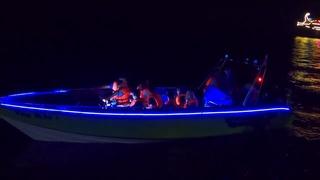 🔥Вечернее шоу на катерах в Ялте на набережной КРЫМ 2020