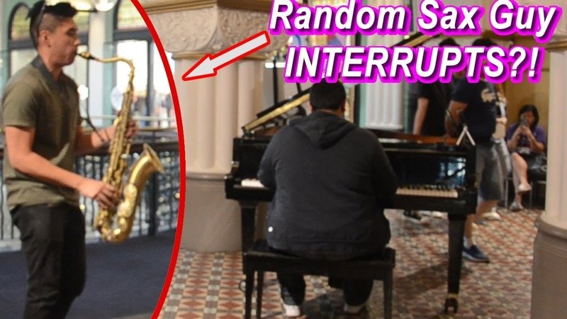 I played GIORNO'S THEME on piano in public and THIS HAPPENED