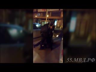 Задержание подозреваемых в разбоях в Омске