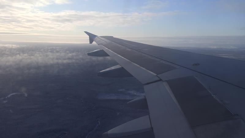 Ural Airlines Airbus A320 VQ BDM Жуковский Архангельск заход на посадку 3 21 октября 2020