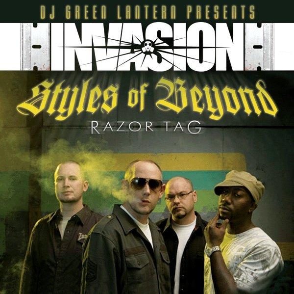 Styles Of Beyond album Razor Tag