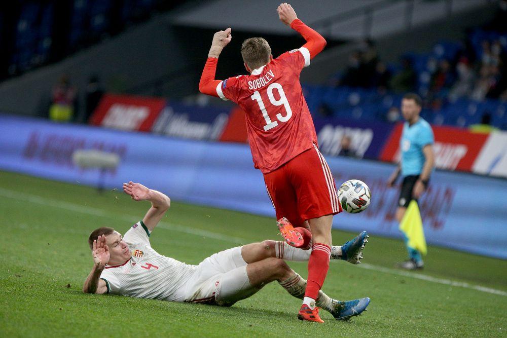 Россия - Венгрия, 0:0