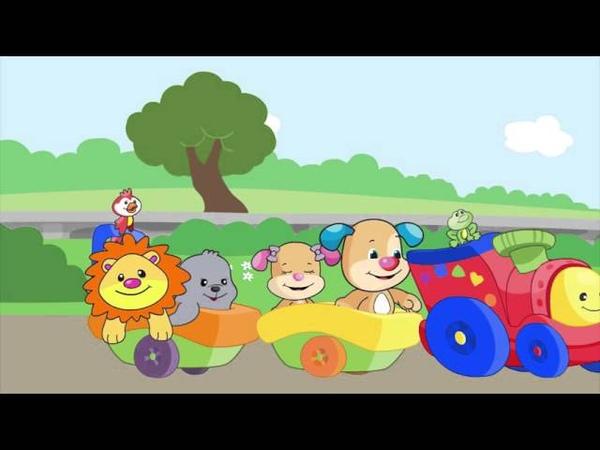 Eğlen ve Öğren - Webisode - Hayvan Dostlar ile Tren Gezisi