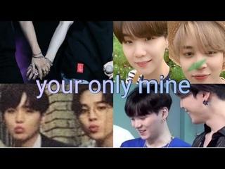 yoonmin being  soft  jealous & love  #yoonmin #yoonminmoment