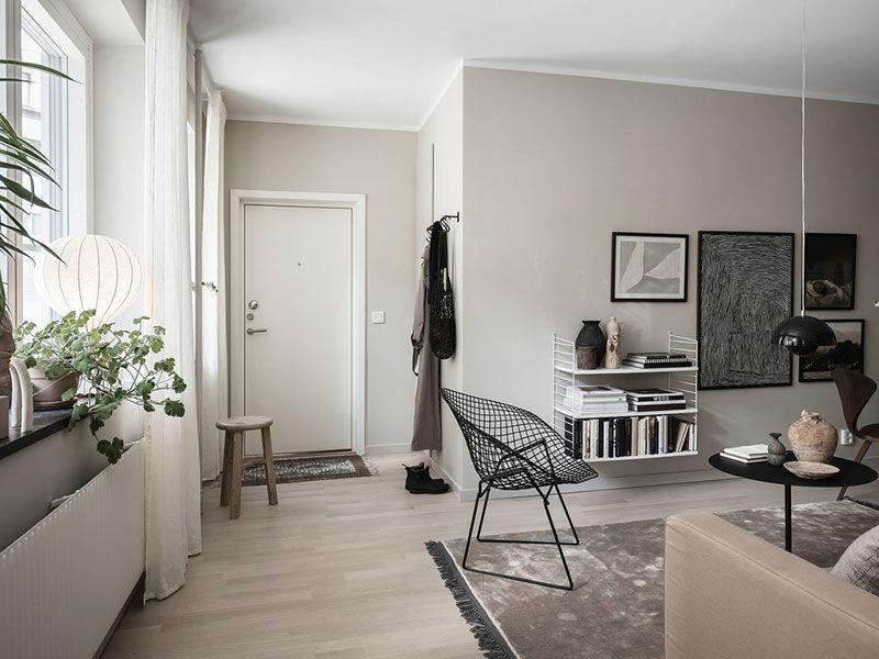 В тесноте, да не в обиде: стильная квартира в Швеции (36 кв.