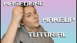 Masculine Makeup Tutorial - Cosplay, Drag, Halloween, etc.