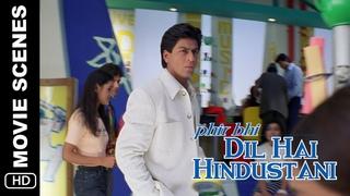 Azaad   Phir Bhi Dil Hai Hindustani   Movie Scene   Shah Rukh Khan, Juhi Chawla