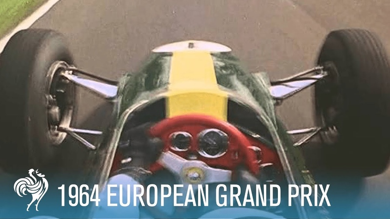 1964 European Grand Prix Formula One Racing at Brands Hatch | British Pathé