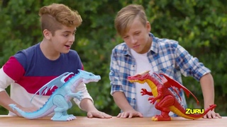 NEW from ZURU Robo Alive!   Fire Breathing & Ice Blasting Dragons   They Roar Like Real Dragons